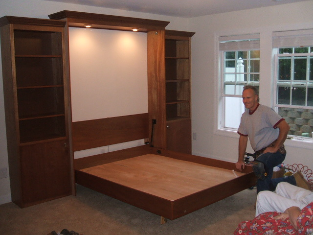 Installation 171 Raleigh Murphy Beds By The Master S Craftsman